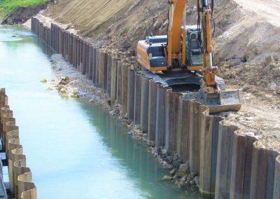 Bacino espansione torrente Tramigna a San Bonifacio