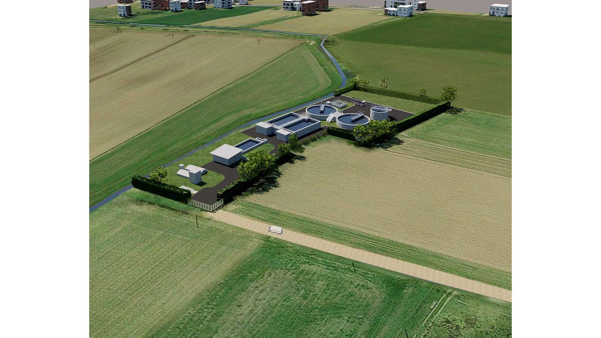 Depuratore Cavalle 001 E-Farm Studio Ingegneria