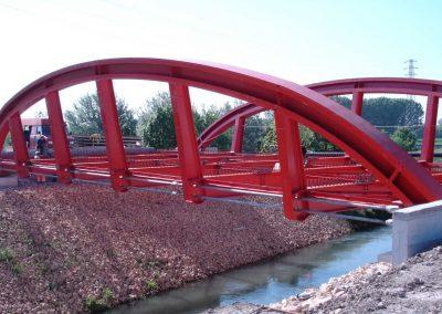 Nuovo Ponte sul Fiume Muson Padova