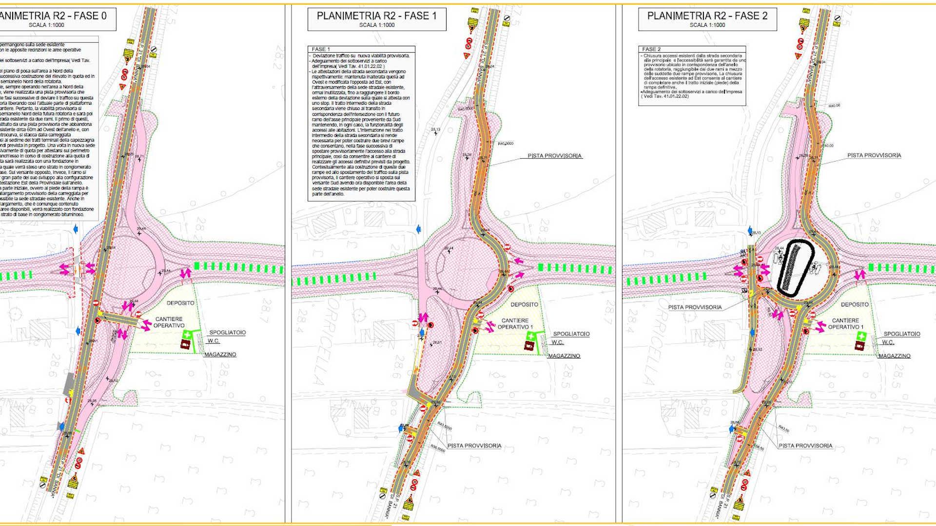 Pordenone Circonvallazione San Vito Tagliamento Main E-Farm Studio Ingegneria Padova