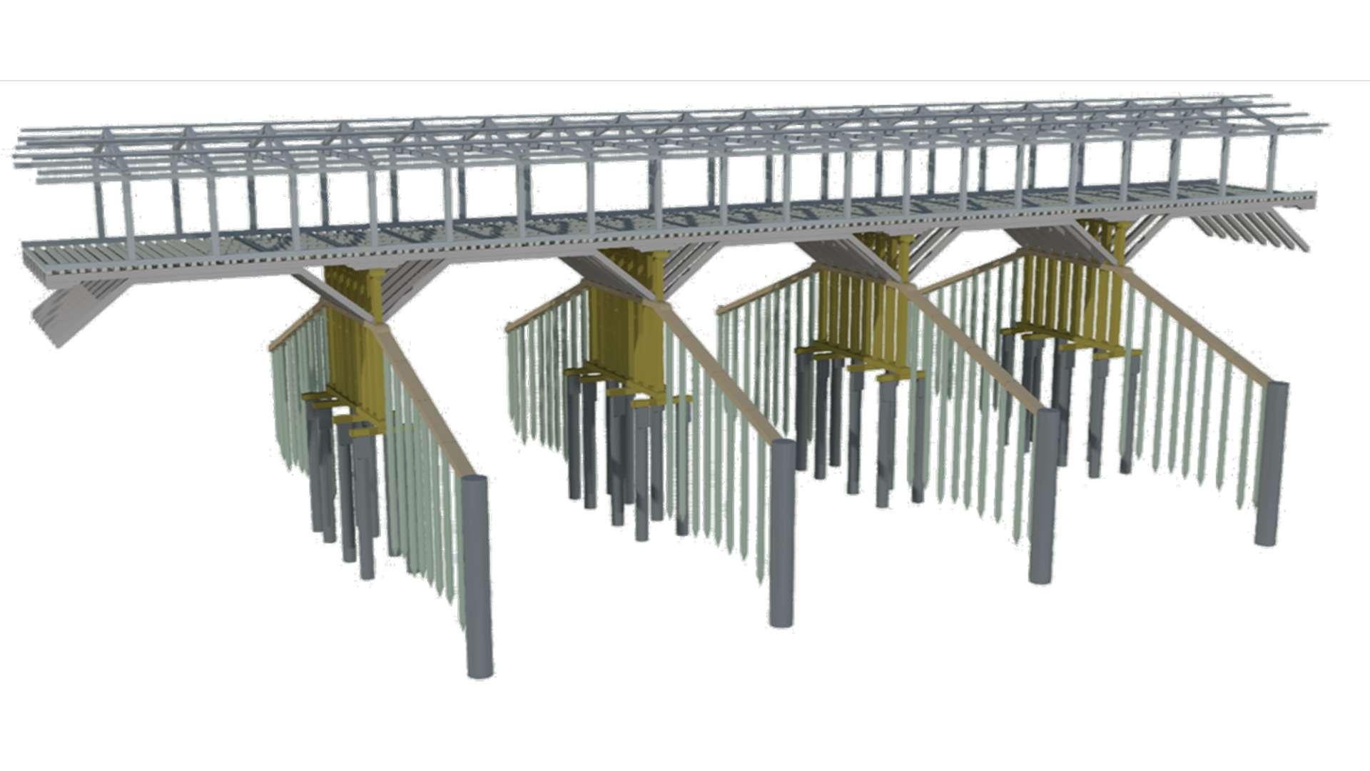 Struttura Ponte Alpini 004 efarm ingegneria padova