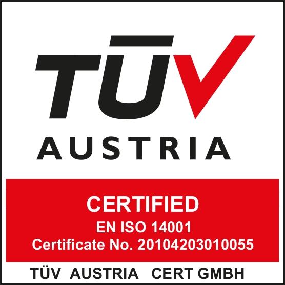 Certificato Qualità TUV EN_ISO_14001-2015_Logo_E-Farm Ingegneria Padova