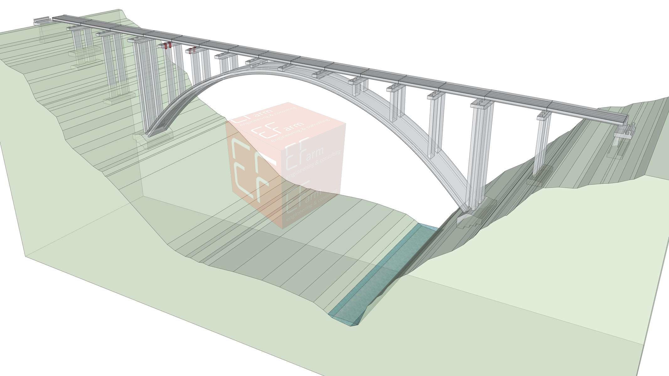 BIM Ponte San Pancrazio E-Farm engineering & consulting